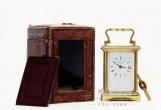 一场时光的艺术上神色:江山博物馆展出百余件钟表藏品