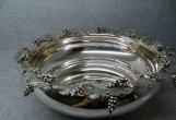 彰显土豪的设计理念——欧洲银器果盘两件