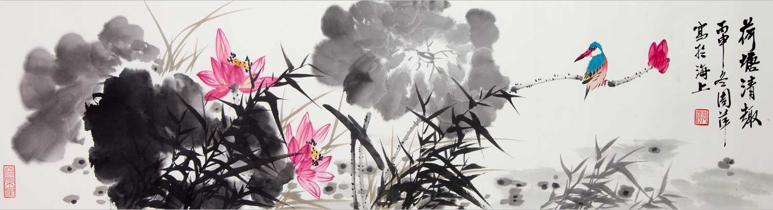中国书画院副院长书画作品